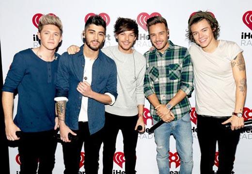 One Direction và con số 5 định mệnh