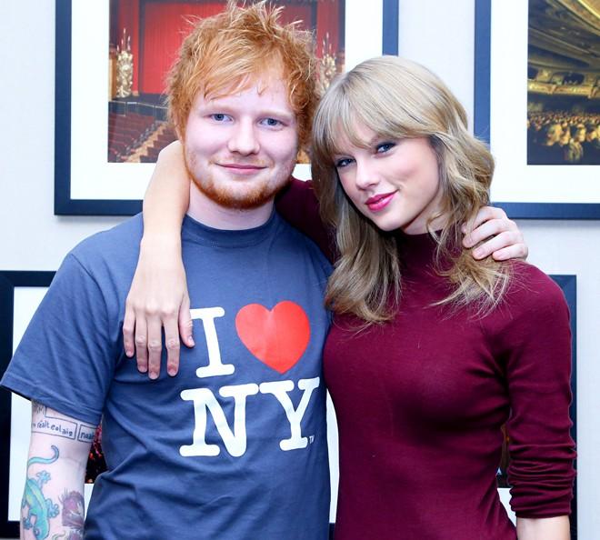 Taylor Swift và 'trai xấu' Ed Sheeran lập kỷ lục Guinness