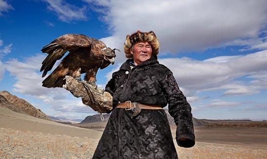 Đi săn cùng đại bàng tại thảo nguyên Mông Cổ