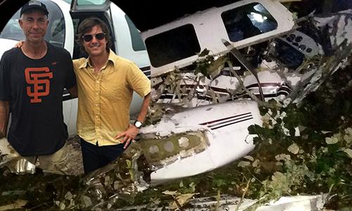Tai nạn máy bay trên phim trường của Tom Cruise khiến hai người chết
