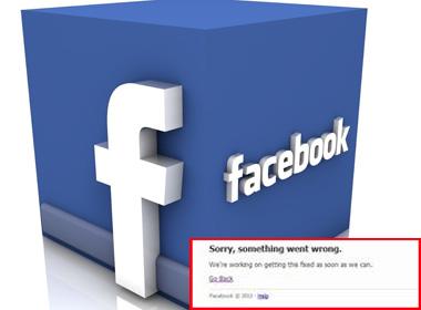 Facebook gặp sự cố, nhiều người Việt không thể chat