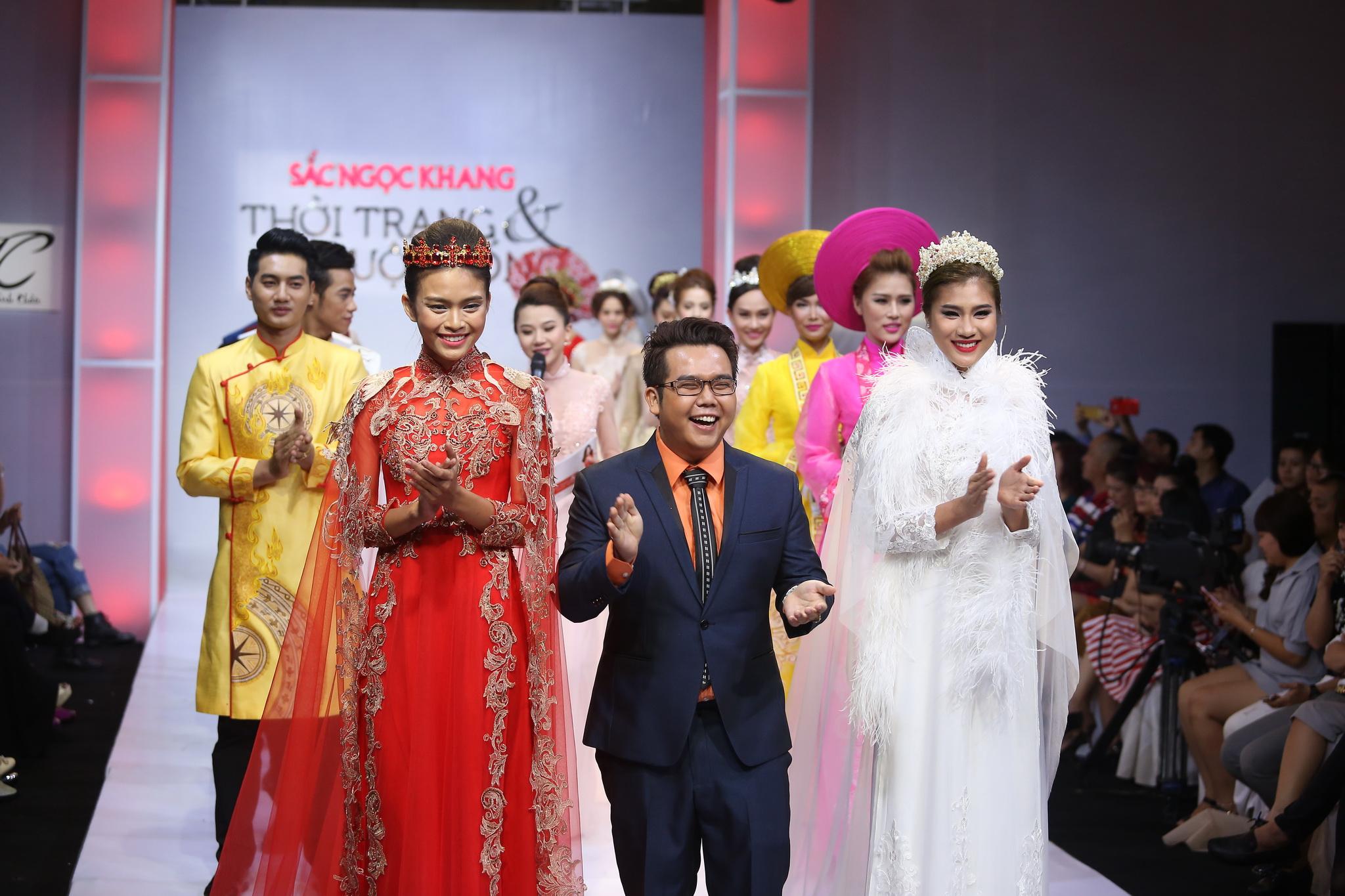 Thương hiệu áo dài Minh Châu và BST cưới năm 2015