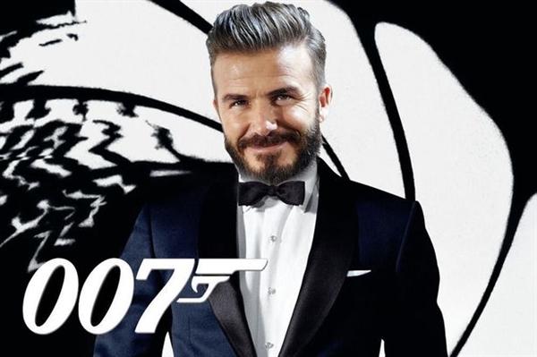 David Beckham không có ý định đóng James Bond