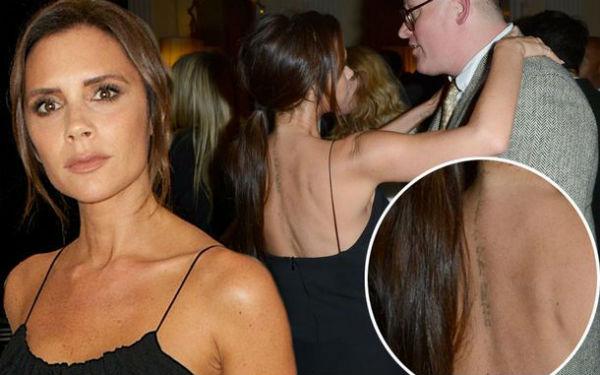 Victoria không xóa hình xăm, dập tắt tin đồn ly hôn với Beckham
