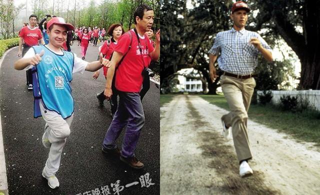 9X bại liệt chạy đua đường trường bằng một chân