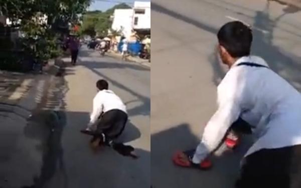 Cậu bé khuyết tật bán vé số đầy tự trọng