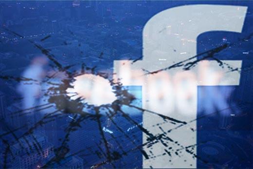 Facebook sập mạng tại Việt Nam