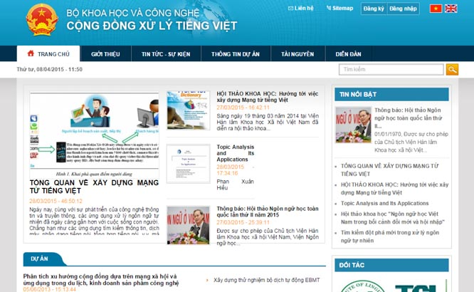 Sẽ có Mạng từ tiếng Việt vào cuối năm nay