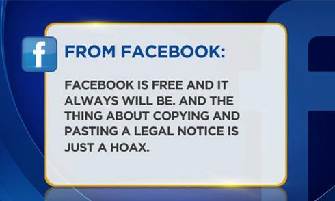 Người dùng Facebook vẫn sập bẫy trò lừa thu phí từ năm 2009