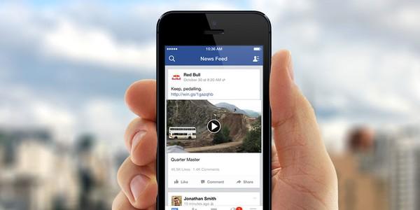 Facebook loại bỏ chức năng tự chạy video tại Việt Nam