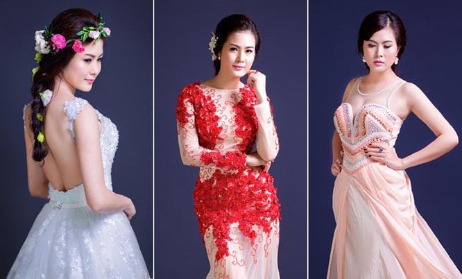 Quý cô Bảo Ngọc thêm đài các với váy đầm Tommy Nguyễn