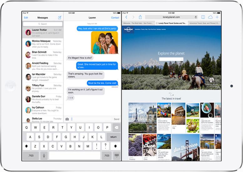 Facebook Messenger đã hỗ trợ đa nhiệm cho iOS 9 trên iPad