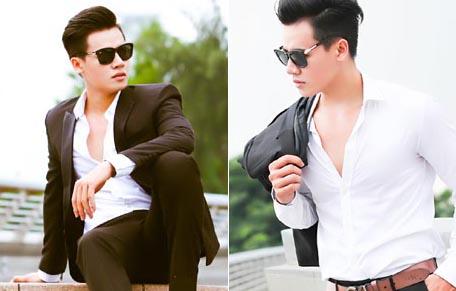 Hồ Phúc như lãng tử với thiết kế vest Tommy Nguyễn