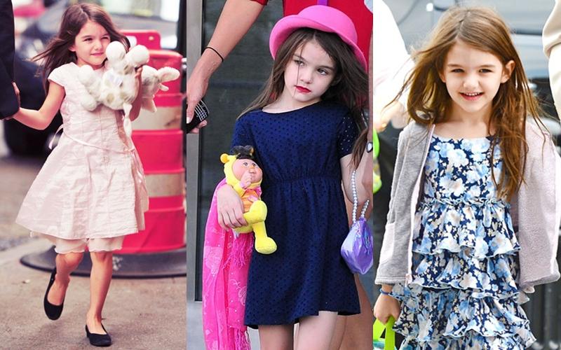 Tủ quần áo triệu đô của con gái Tom Cruise