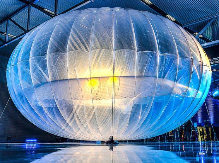 Google dùng bóng bay... 'phủ' internet toàn bộ hành tinh