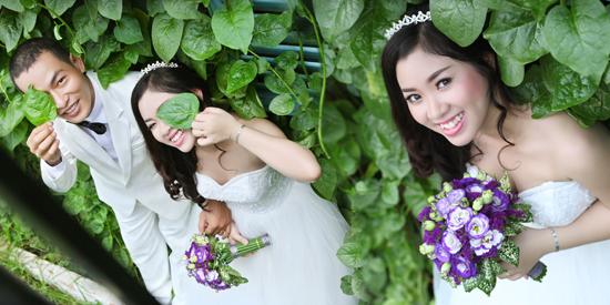 Xu hướng Album cưới theo phong cách Hàn Quốc của nhiếp ảnh gia Duy England