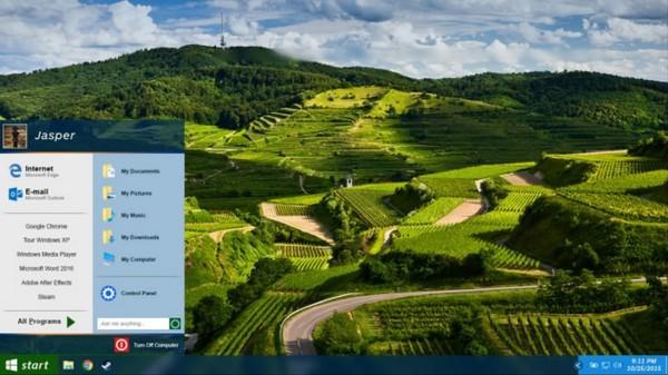 Windows XP sẽ trông như thế nào nếu ra mắt năm... 2015?
