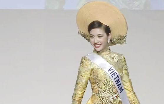 Thúy Vân vào top 10 Hoa hậu Quốc tế 2015