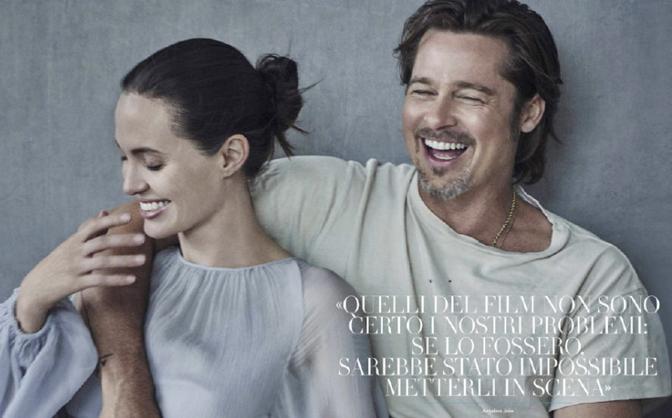 Bộ ảnh mới mộc mạc nhưng đầy hạnh phúc của Angelina Jolie - Brad Pitt