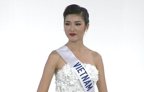 Thúy Vân đoạt Á hậu 3 Hoa hậu Quốc tế 2015