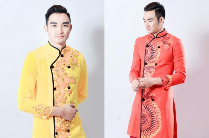 Gà cưng của ông bầu Tommy Văn nổi bật với áo dài của NTK Ngọc Long