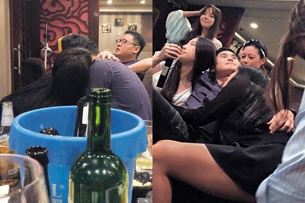Loạt người đẹp Hong Kong lộ ảnh thác loạn cùng thiếu gia