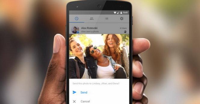 Facebook Messenger bắt đầu nhận biết khuôn mặt bạn