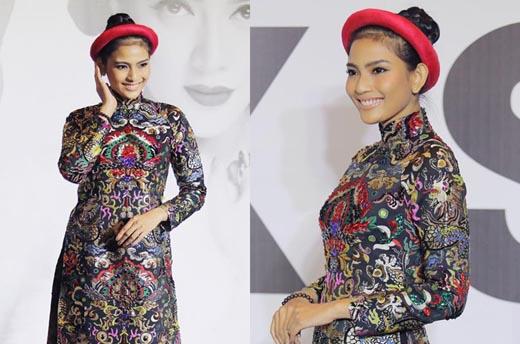 Trương Thị May ấn tượng với phong cách cổ điển