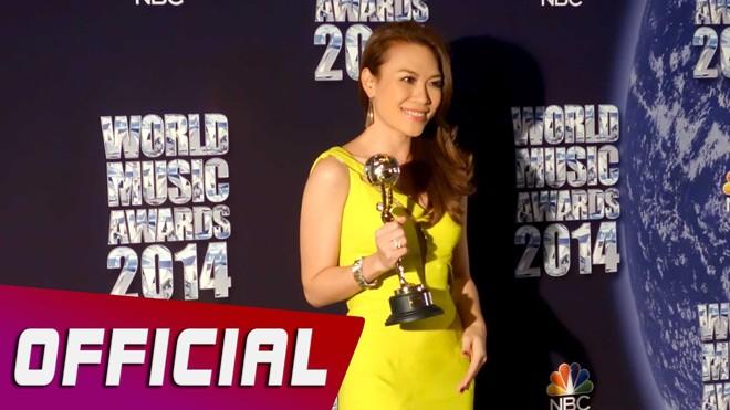 Những giải thưởng quốc tế của ca sĩ Việt