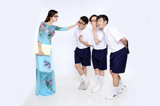 Oanh Yến làm cô giáo của các học trò nhóm SMS