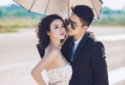 Trai lạ tình tứ Linh Miu trong bộ ảnh cưới