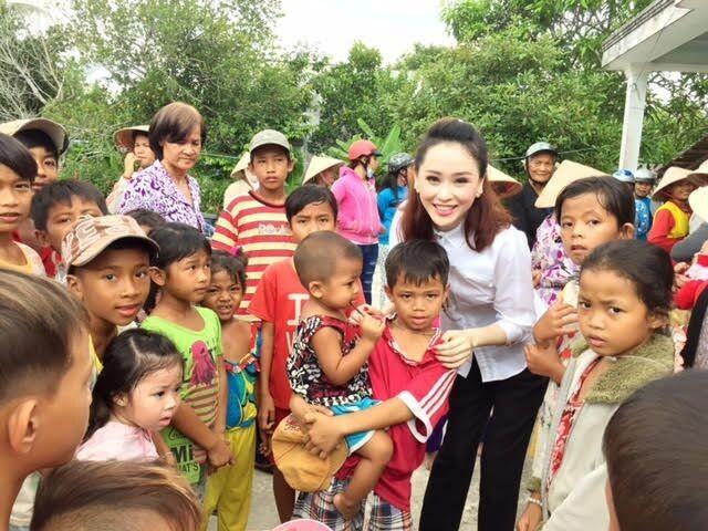 Á hậu Thái Như Ngọc xây nhà tặng người nghèo