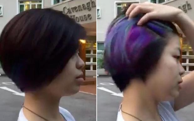"""Tóc nhuộm màu nổi mà vẫn """"như không"""" sắp thành trào lưu mới ở Hàn?"""