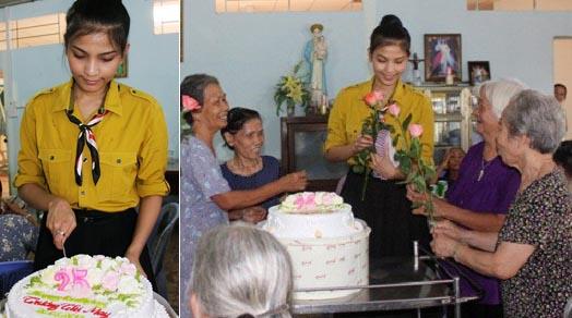 Sao Việt làm từ thiện trong ngày sinh nhật