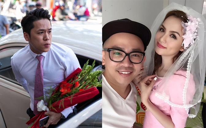 Diễm Hương đẹp rạng rỡ, an ninh được thắt chặt trong đám cưới