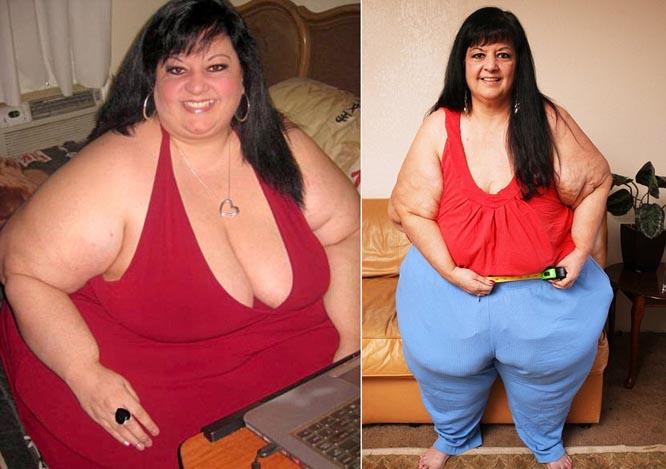 Người phụ nữ tụt 110kg sau khi chia tay bạn trai