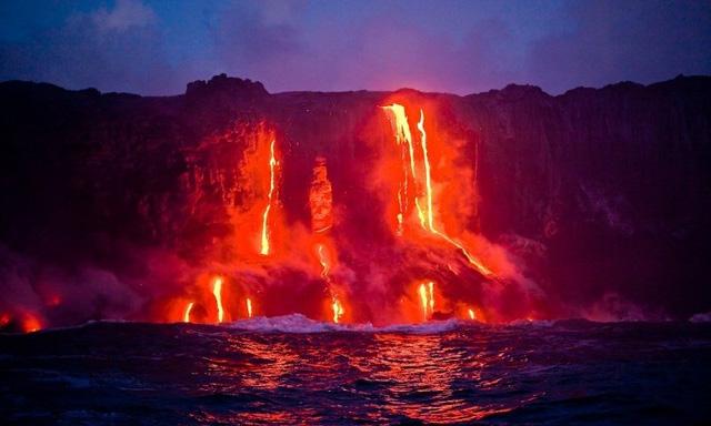 Chiêm ngưỡng vẻ ngoạn mục của vườn quốc gia núi lửa Hawaii