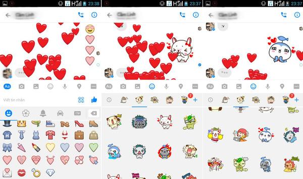 """Điều bất ngờ khi gửi icon trái tim cho """"người ấy"""" qua Facebook Messenger"""