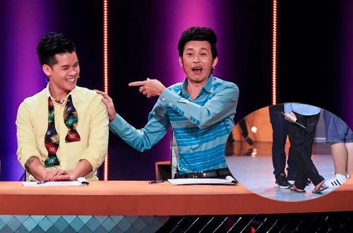 Bước nhảy ngàn cân: Giám khảo Hoài Linh đi dép xỏ ngón