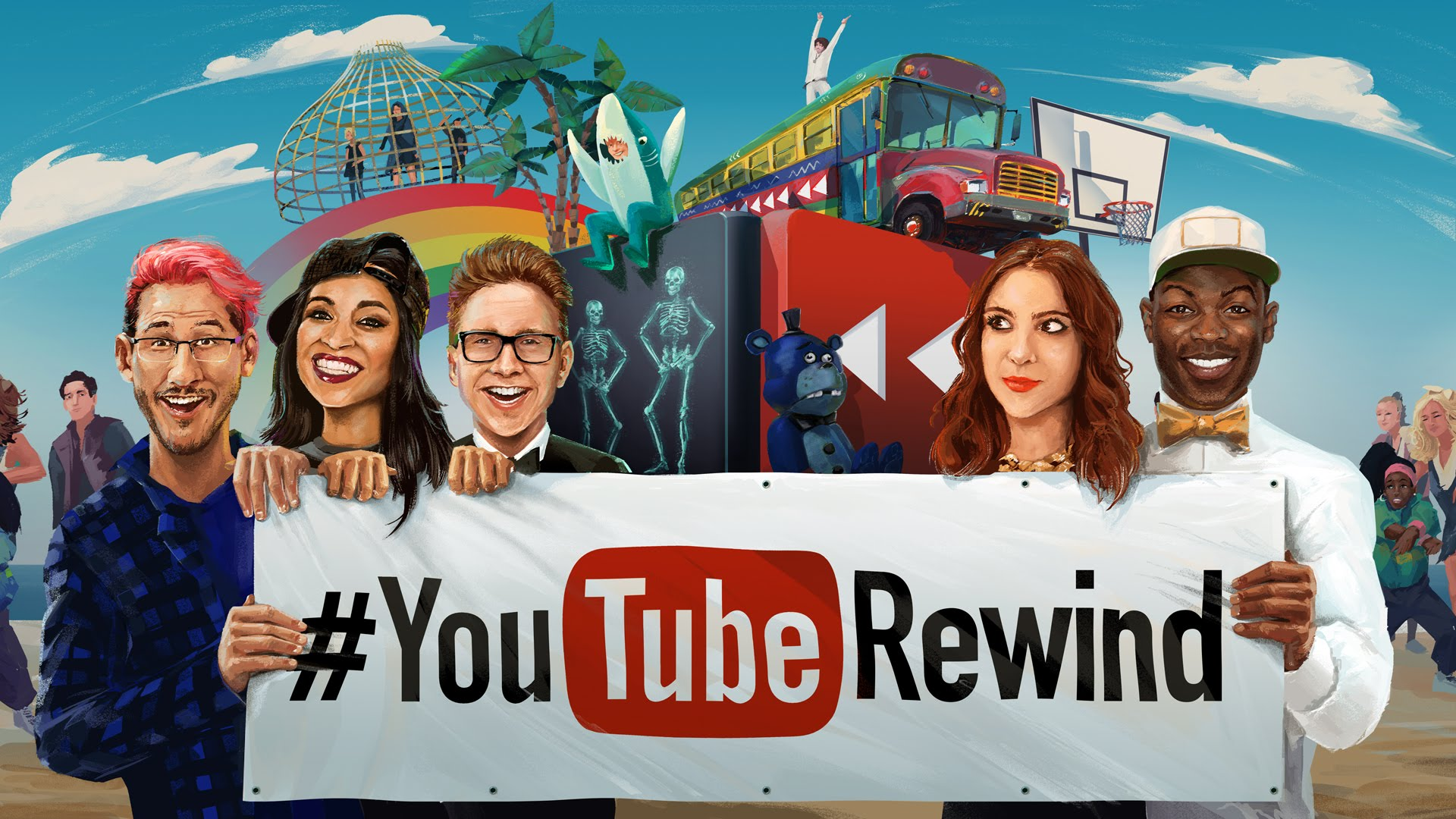 Youtube tung video hoành tráng tổng kết năm 2015