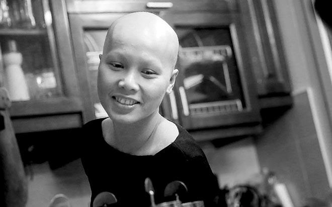Cuộc sống của mẹ đơn thân chống chọi ung thư