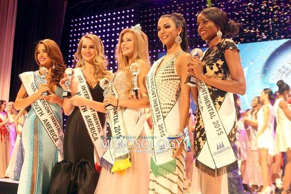 Đại diện Việt Nam - Hà Thu lọt top 17, mỹ nhân Nga đăng quang Hoa hậu Liên lục địa 2015