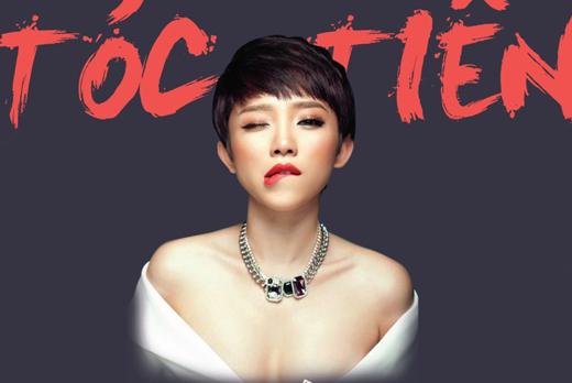 Tóc Tiên - Ca sĩ ấn tượng của năm 2015