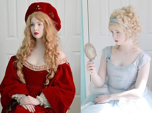 Thiếu nữ 18 tuổi thiết kế trang phục đẹp tựa truyện cổ tích
