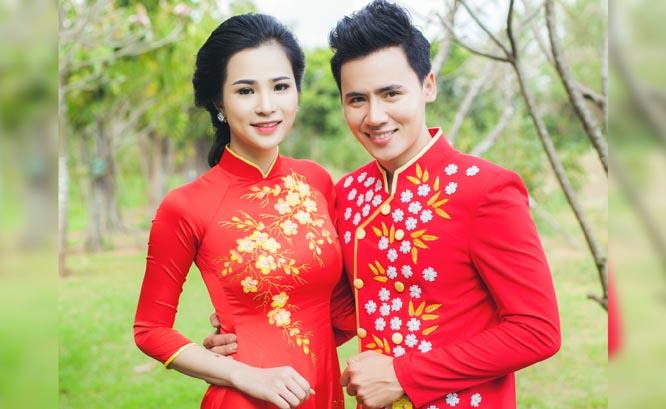 Cặp đôi thêm đồng điệu và gắn kết với Áo dài cưới Tommy Nguyễn