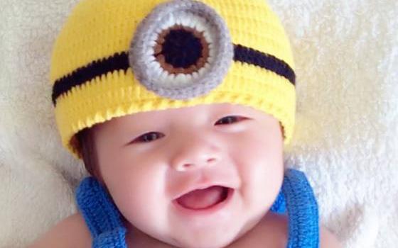Elly Trần khoe ảnh con trai hóa Minion đáng yêu như thiên thần