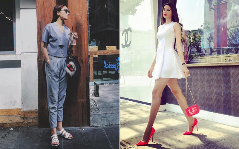 Kỳ Duyên - Phạm Hương: 2 nàng Hậu, 2 street style vô cùng khác biệt