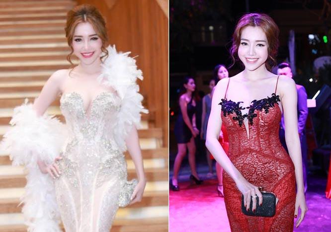 Những bộ váy khiến bạn không thể tin Elly Trần mới sinh con