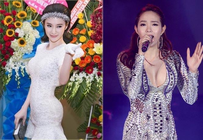 """Những pha lộ """"phụ kiện độn"""" quá đà của các người đẹp Việt - Hàn"""