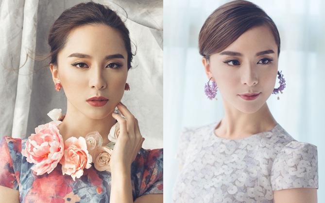 Không thể rời mắt khỏi nhan sắc xinh đẹp của Dương Trương Thiên Lý